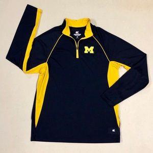 Michigan Wolverines - Women's Quater-Zip 💙💛